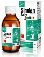 SINULAN FORTE JUNIOR syrop 120ml